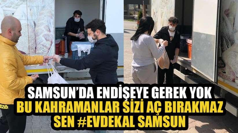Samsun'da fırıncılar hizmeti vatandaşın ayağına götürdü