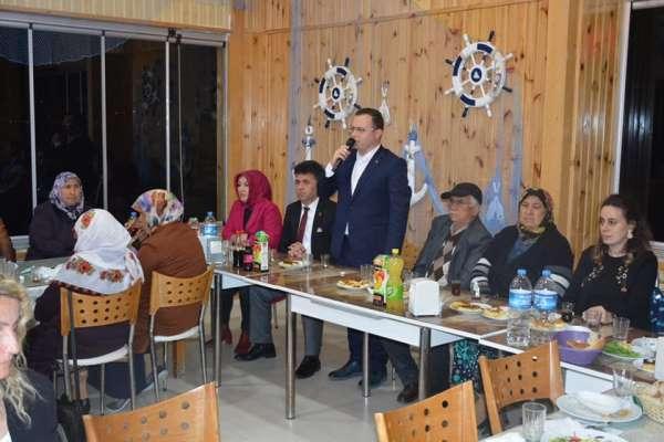 Türkeli'de gaziler ve şehit ailelerine iftar