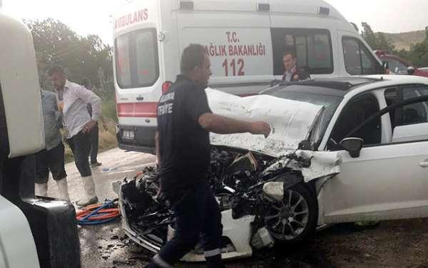 Korkunç bir kaza