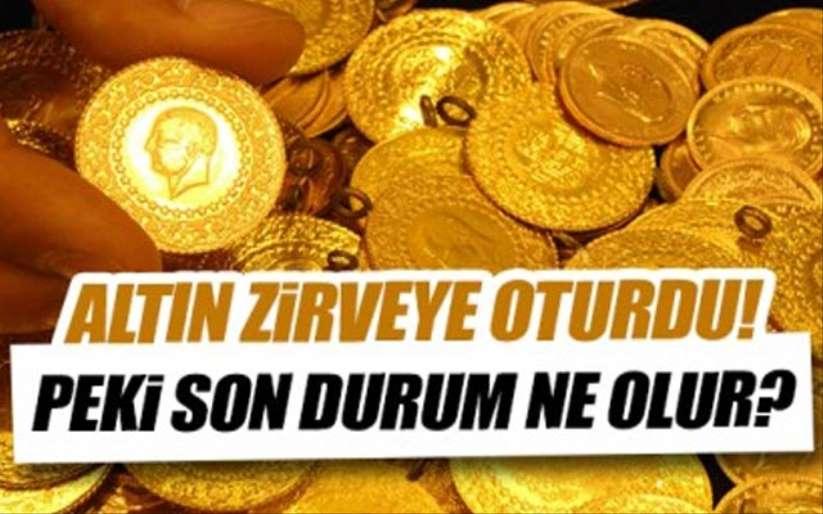 Altın fiyatları zirveye oturdu! Samsun'da 11 Ağustos çeyrek altın