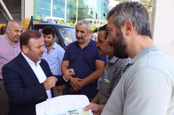 AK Parti Giresun Milletvekili Sabri Öztürk: 'Üretici, TMO alımlarından memnun'
