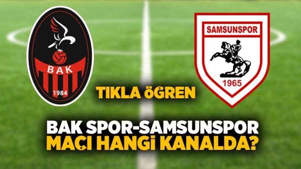 Bak spor Samsunspor maçı hangi kanalda?