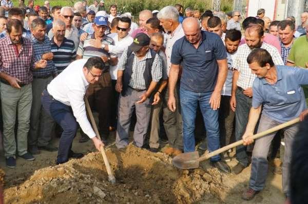 Bursa'daki kazada hayatını kaybeden belediye işçisi son yolculuğuna uğurlandı