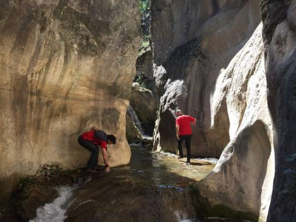 Dağcıların yeni gözdesi 'Kalinse Kanyonu'