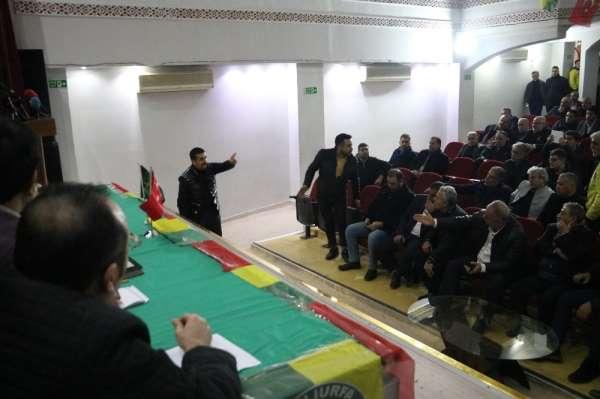 Şanlıurfaspor kongresinde gerginlik