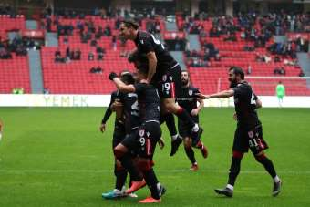 TFF 2. Lig: Samsunspor: 3 - Gümüşhanespor: 0