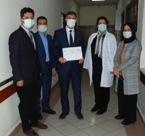 Aydın Atatürk Devlet Hastanesi 'Sıfır Atık Belgesi' almaya hak kazandı
