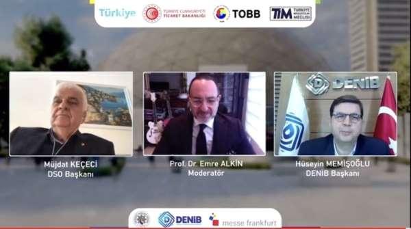 Denizli, Türkiyenin ilk sanal ev tekstili fuarına ev sahipliği yapıyor