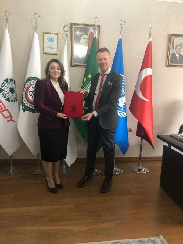 Finlandiyanın Ankara Büyükelçisi Ari Maki ULUSKON Genel Merkezini ziyaret etti
