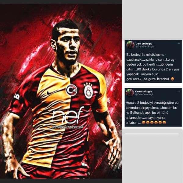 Younes Belhanda: Kesinlikle bir bedeviyim ama Galatasarayı seven ve temsil ede