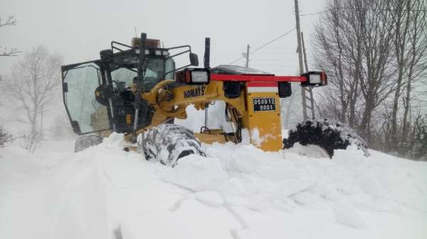 114 köy yolu ulaşıma kapalı