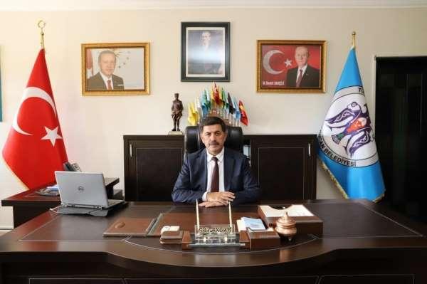 Başkan Aksun: 'Bu topraklar için canını feda eden kahraman şehitlerimizin manevi