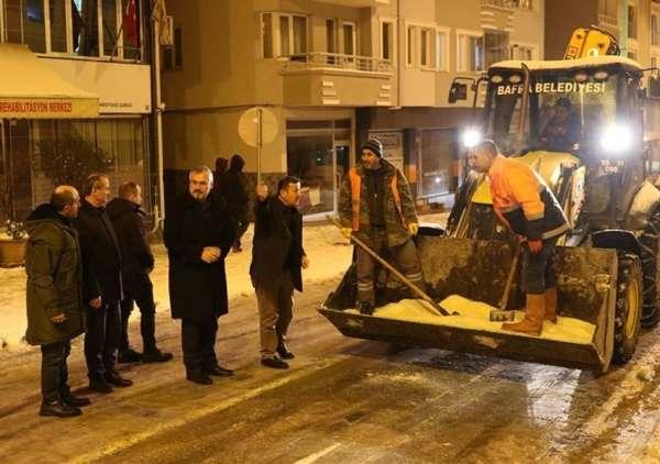 Başkan Kılıç: 'Kar yağışının günlük hayatı olumsuz yönde etkilemesinin önüne geç
