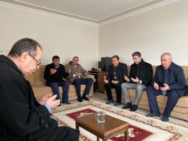 Başkan Yüksel'den şehit ailesine ziyaret