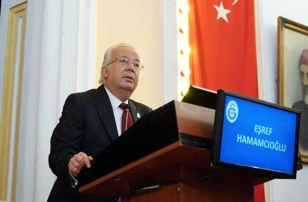 Eşref Hamamcıoğlu: 'Camiamız ve divan üyelerimiz başkanımız Mustafa Cengiz'den ö
