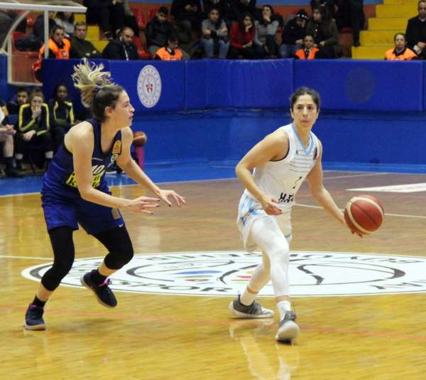 Kadınlar Basketbol Süper Ligi: Hatay Büyükşehir Belediyespor: 60 - Fenerbahçe: 1