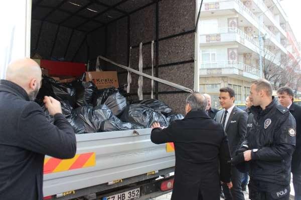 Türkeli'den Elazığ'a gıda yardımı