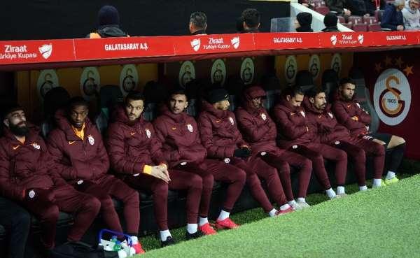Ziraat Türkiye Kupası: Galatasaray: 1- Aytemiz Alanyaspor: 0 (Maç devam ediyor)