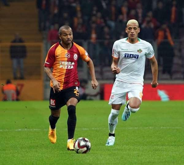 Ziraat Türkiye Kupası: Galatasaray: 1 - Aytemiz Alanyaspor: 1 (İlk yarı)