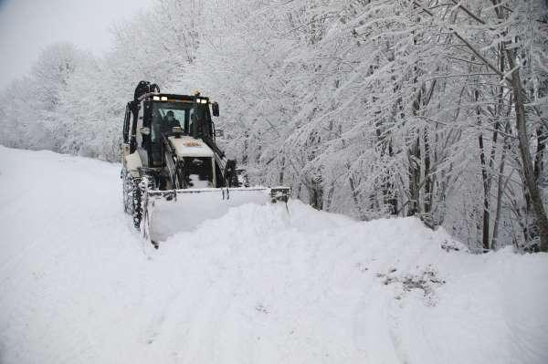 Atakum Belediyesi karla mücadeleye hazır