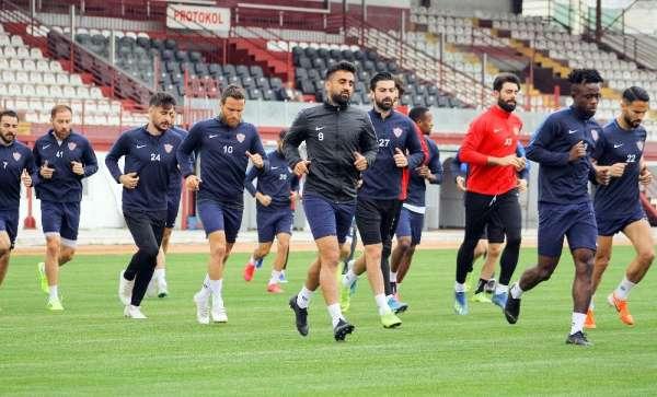 Hatayspor, Ümraniyespor maçının hazırlıklarına başladı