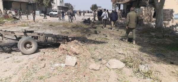 Resulayn'da bomba yüklü araçla saldırı: 2 ölü