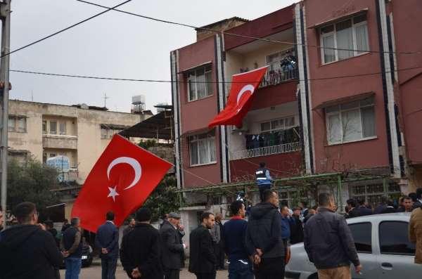 Resulayn'da şehit düşen askerin şehadet haberi ailesine ulaştı