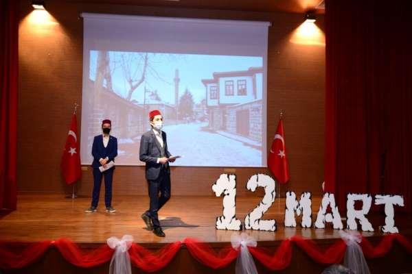 Kahramankazanda İstiklal Marşının 100. yılı etkinlikleri