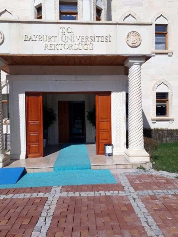 Bayburt Üniversitesinde korona virüs tedbirleri