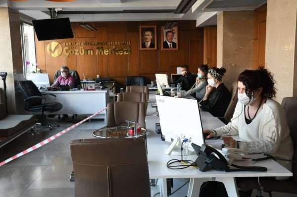 Samsun Büyükşehir Belediyesi ekipleri yasağı hissettirmedi
