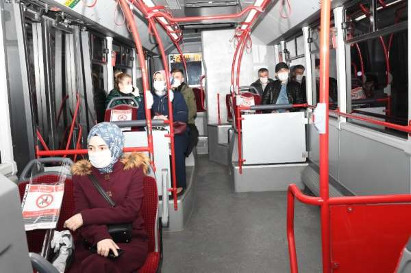 SAMULAŞ otobüsleri onlar için seferde