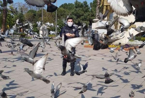 Şehrin kahramanları sokak hayvanlarını unutmadı