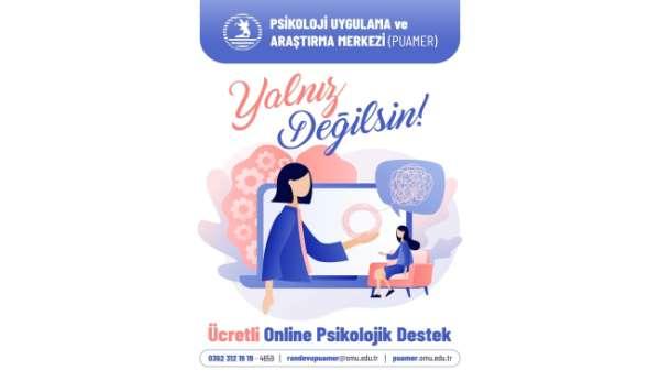Online psikolojik destek hizmeti
