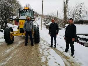 Sinop'ta 18 kapalı köy yolu açıldı