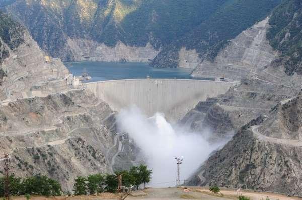 Artvin'de bulunan barajlardan ekonomiye 7 milyarlık katkı