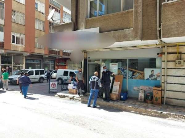 Kargo şubesine silahlı saldırı