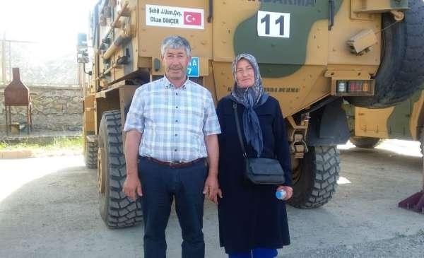 Operasyona oğullarının isminin verildiği şehit ailesinden Bakan Soylu ve Vali Şa