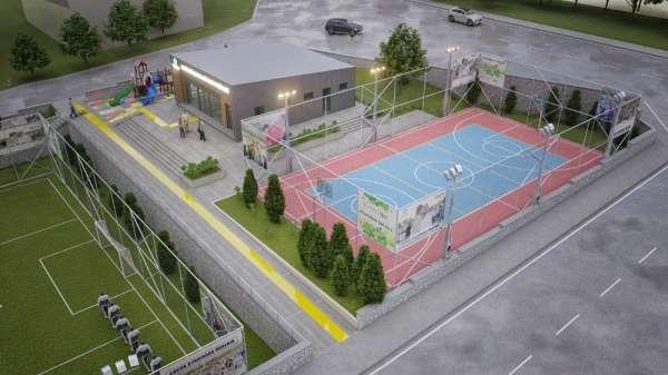 Spor tesisi yatırımları Ortacami Mahallesi ile sürüyor