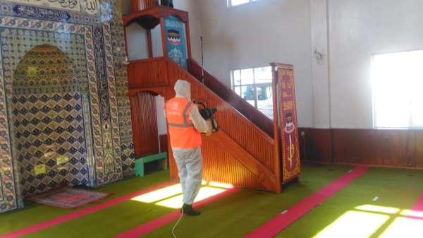 Altınorduda camiler temizlendi