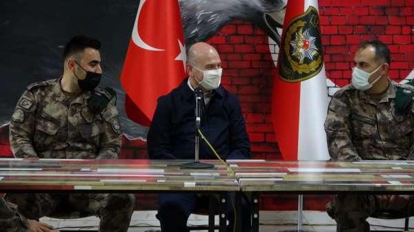 Bakan Soylu; Çukurcada 3 sivili katleden turuncu listedeki terörist öldürüldü