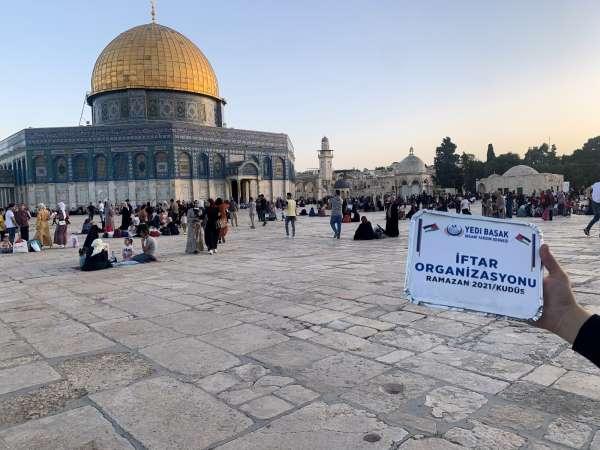İsrailin saldırısı altındaki Filistine Türkiye desteği