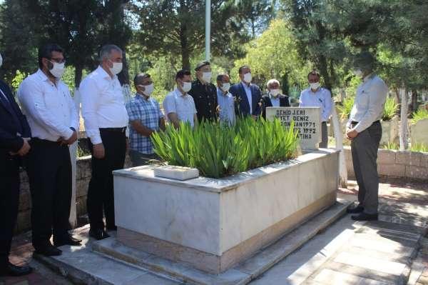Kahtada bayram öncesi şehit mezarlarına ziyaret
