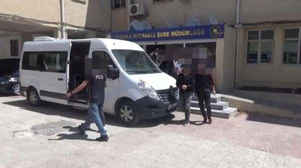 Şanlıurfada terör operasyonu: 5 tutuklama