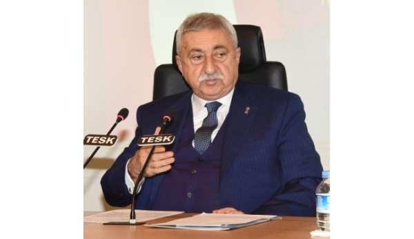 TESK Genel Başkanı Palandöken: Esnaf ve sanatkârların umudu önümüzdeki bayrama kaldı