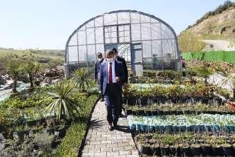 Atakum'da parklar tasarrufla renklendi