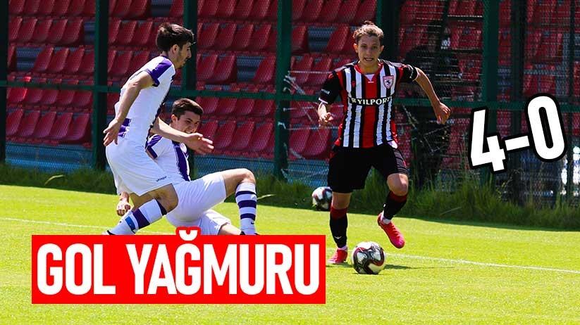 Yılport Samsunspor U19dan gol yağmuru
