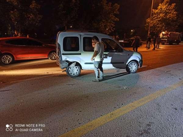 Ankarada kaza, kazayı getirdi: 1 yaralı