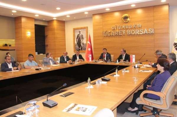 CHP Ekonomi Masası heyeti DTB üyeleri ile bir araya geldi