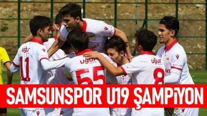 Samsunspor U19 Şampiyon