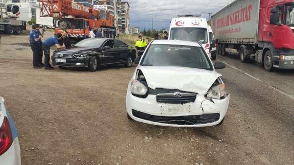 Kırıkkalede trafik kazası: 5 yaralı